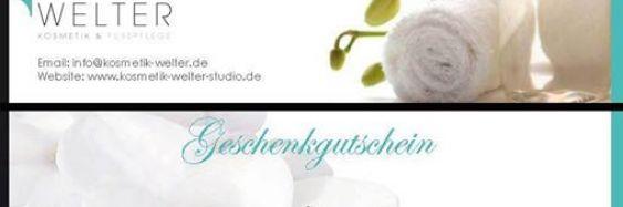 """Gutschein — SCHÖNHEIT ZUM VERSCHENKEN!"""""""